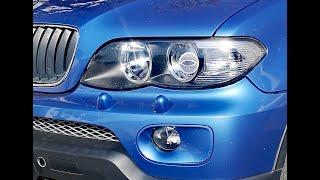 BMW X5 E53 Switchable Headlights from LHD to RHD or Flat Neutral