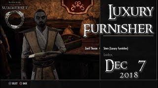 ESO Guide | Luxury Furnisher December 7, 2018 // Zanil Theran