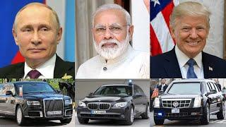 Top 10: Cars of MOST POWERFUL People in WORLD ! ! !