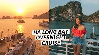Ha Long Bay: Overnight Cruise & Sunrise Tai Chi On A Luxury Boat | Vietnam Travel Vlog