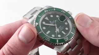 Rolex Oyster Perpetual Submariner 'Hulk' 116610LV Luxury Watch Review