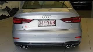 2017 Audi S3 8V MY17 S tronic quattro Florett Silver 7 Speed Sports Automatic Dual Clutch Sedan