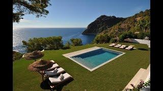 Luxury frontline sea villa - waterfront villa on Ibiza Es Cubells - Luxury Villas Ibiza