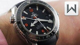 Omega Seamaster Planet Ocean 600M GMT 43.5mm (232.32.44.22.01.002) Luxury Watch Review