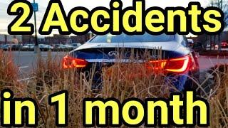My Q50 + 2 accidents in 1 month : Can i fix it?