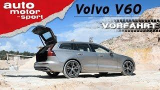 Volvo V60 (2018): Große Klappe und viel dahinter? – Vorfahrt (Review) | auto motor und sport