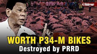 LATEST: PRRD LEADS THE DESTRUCTION OF P37-M WORTH OF LUXURY MOTOR VEHICLES