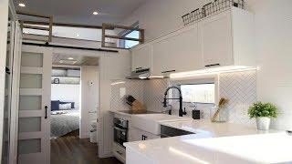 Stunning Luxury High-End Tiny House w/ Large Functional Interior Lay-Out | Small Home Design Ideas