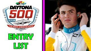 DAYTONA 500 ENTRY LIST | Pato O'Ward IN TROUBLE? -- This Week In Racing