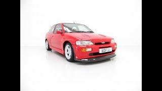 A Stonking Ford Escort RS Cosworth Luxury with Only 25,549 Miles - £49,995