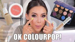 FULL FACE USING ONLY COLOURPOP COSMETICS!