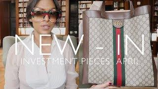 NEW IN MY CLOSET APRIL | HIGH END LUXURY HAUL ft Gucci