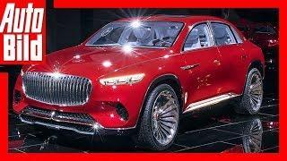 Vision Maybach Ultimate Luxury (Auto China 2018) Sitzprobe/Details/Erklärung