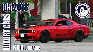 Luxury Cars in Kiev (05.2018) Dodge Challenger SRT Hellcat