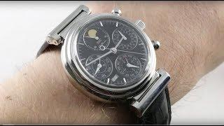 IWC Da Vinci Perpetual Calendar Chronograph IW3750-030 Luxury Watch Reviews