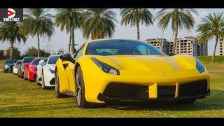 Supercars in India Ultimate Showdown Hyderabad #DinosVlogs