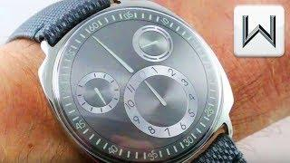 Ressence TYPE 1 Squared Ruthenium TYPE 1RS Luxury Watch Review