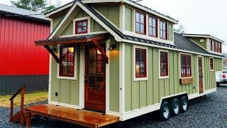 Luxury Beautiful Farmhouse Tiny House by Timbercraft Tiny Homes