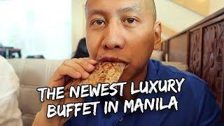 Newest Luxury Buffet in Manila | Vlog #319