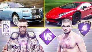 Conor Mcgregor vs Khabib Nurmagomedov Luxurious Car Collection 2018 ✮