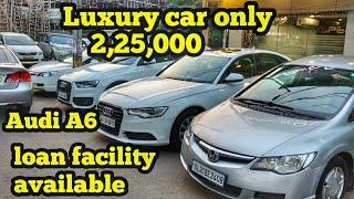 luxury cars starting 225000 /- audi A6 , audi Q3 , honda civic  used car market Delhi speedy toyz