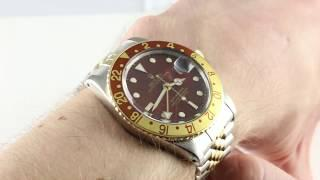 "Rolex GMT-Master II ""Root Beer"" 16753 Luxury Watch Review"