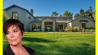 Kris Jenner House Tour $10000000 Luxury Expensive Mansion