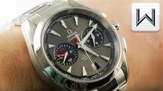 Omega Seamaster Aqua Terra GMT Chronograph 150M (231.10.43.52.06.001) Luxury Watch Review