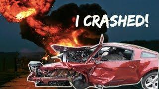 I Crashed My Mustang Leaving The Dealership....