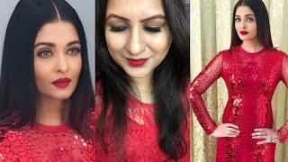 Aishwarya Rai Lux Golden Awards Makeup Tutorial