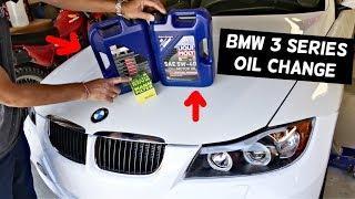 BMW E90 OIL CHANGE E91 E92 E93 325I 328I 330I 325XI 328XI