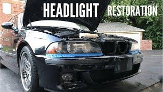 Headlight Restoration | E39 M5
