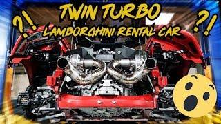 Twin Turbo Lamborghini Huracan Rental Car ?!!! WTF Are We Crazy ?!