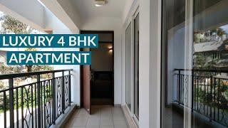 Luxury 4 BHK Apartments near Hebbal Bangalore, 4 BHK Apartment Tour