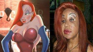 Who Framed Roger Rabbit Before and After ★ Real Life