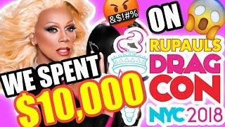 RUPAUL'S DRAG CON NYC 2018 COST US $10,000!!! feat. Rich Lux