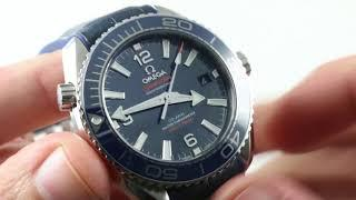 Omega Seamaster Planet Ocean 39.5mm 600M (215.33.40.20.03.001) Luxury Watch Review