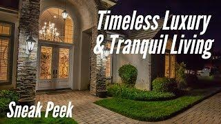 TIMELESS LUXURY and TRANQUIL LIVING amongst the trees! (Luxury Mansion)