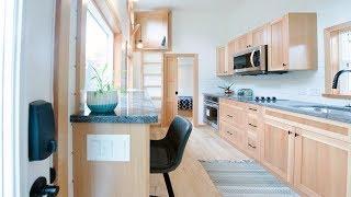 Gorgeous Modern Luxury Tiny Home w/ 2 Discreet Sleeping Loft & Main Floor Bedroom