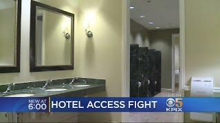 Homeless Man Wins Bathroom Access Battle Against Luxury Hotel