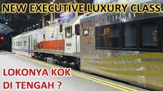 PERDANA NEW Kereta Executive Luxury Sleeper ke Surabaya, Lokonya Kejepit!