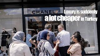 Luxury is suddenly a lot cheaper in Turkey