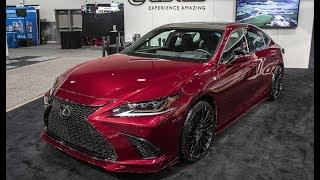 4 Amazing New Lexus Cars Debut At The Sema Auto Show 2018.  Newest 2019 Lexus Cars You Must Too See