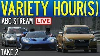 Forza 7│Variety Hour(s): ABC Stream (Take 2)