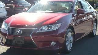Used 2015 Lexus ES 300h Chantilly Dale City VA DC, MD #LP180778