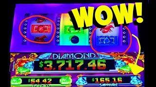 CINDY & I WIN BIG!! ★ SAPPHIRES, RUBYS,  OH MY!!  LIFE OF LUXURY 3-REEL! ★ BRENT SLOTS
