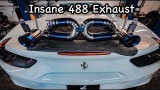 Ferrari 488 Titanium Exhaust  *LOUDEST EVER ?*