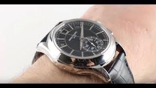 Patek Philippe 5905P-001 Annual Calendar Chronograph Luxury Watch Review