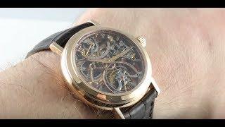 Vacheron Constantin Skeleton Tourbillon 30051/000R-8002 Luxury Watch Review