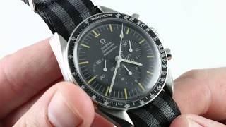 "Omega Speedmaster Professional ""Pre-Moon"" 105.012 Vintage Luxury Watch Review"